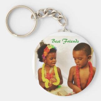 001, Best Friends Basic Round Button Keychain