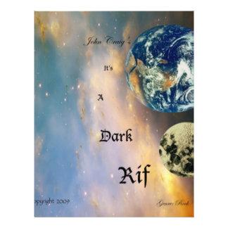 001 Dark Rif Album Cover (front) Flyer