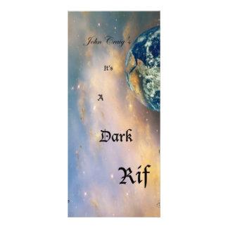 001 Dark Rif Album Cover (front) Rack Card