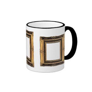001 Gold Vintage Frame mug