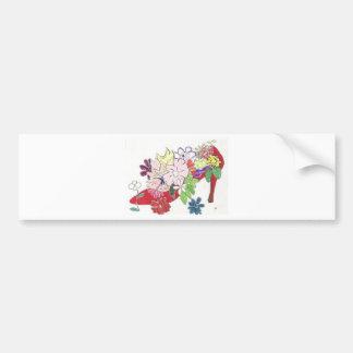001.jpg flower pumps bumper sticker