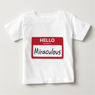 001 milagrosos camisetas