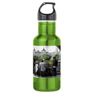 002034 Street Piano: Liberty Bottle 18oz Water Bottle