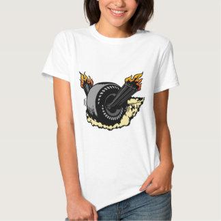 00297 Burning Wheel Tee Shirt
