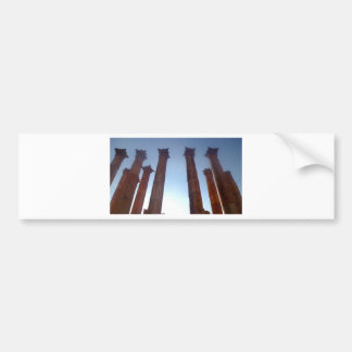002 columnas romanas 2 de Jerash Pegatina Para Auto