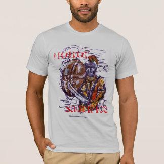 002, HONOR, SACRIFICE T-Shirt