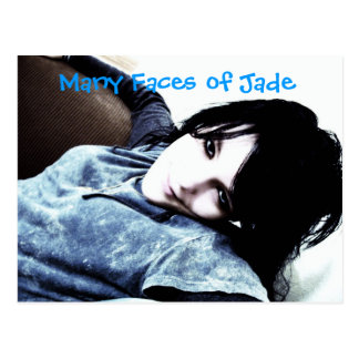 002, Many Faces of Jade Postcard