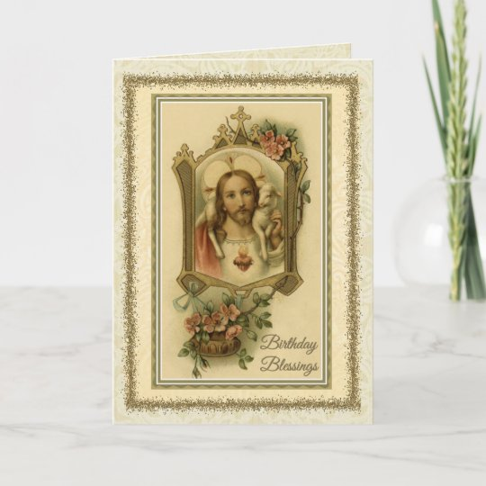 0030 Religiouscatholic Birthday Card Zazzle