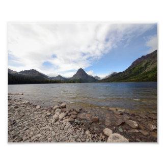 0032 8/12 St. Mary Lake in Glacier Park Photo Print