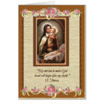 0032 St. Therese Greeting Card
