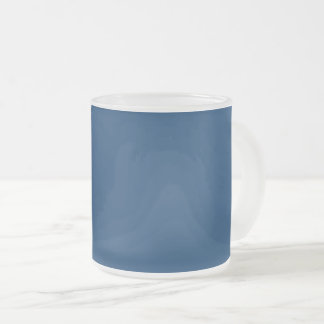 #003366 Hex Code Web Color Dark Blue Frosted Glass Coffee Mug