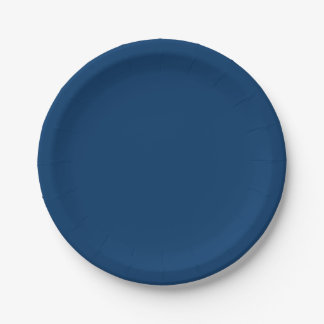 #003366 Hex Code Web Color Dark Blue Paper Plate