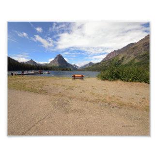 0037 8 12 Two Medicine Lake in Glacier park Photo Art