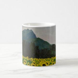 0038-le champ des Tournelsols à la Ste Victoire co Coffee Mug