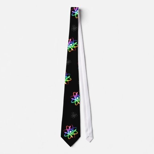 (003: 13s) Átomos que brillan intensamente Corbata Personalizada