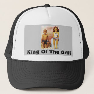 003 (2), King Of The Grill Trucker Hat