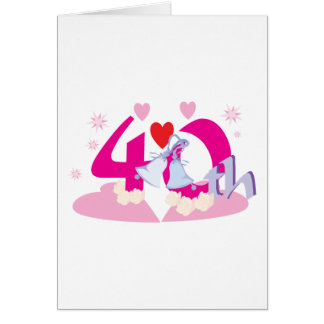003 40th COLORFUL CARTOON NUMBER PARTY SPECIAL OCC Card