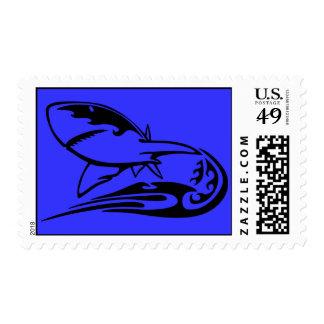 0041b_flamboyant_animals GREAT WHITE SHARK SEALIFE Postage