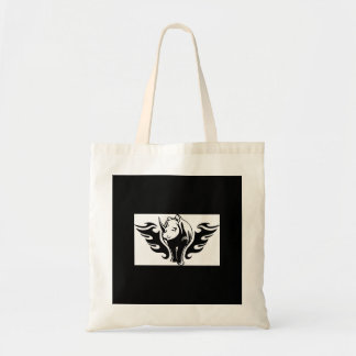 0047b FLAMBOYANT ANIMALS RHINO WILD TATTOO LOGO GA Tote Bag