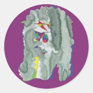 004-0052 PEGATINAS - PEGATINAS PEGATINA REDONDA