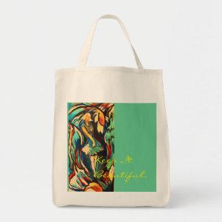 004newbloomed (3) 1111, lo mantienen hermoso bolsa tela para la compra