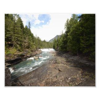 0051 8/12 McDonald baja en parque nacional de glac Impresión Fotográfica