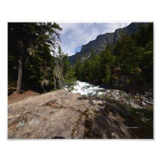 0058 8/12 McDonald baja en Parque Nacional Glacier Impresion Fotografica