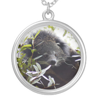 005Bearcat Silver Plated Necklace