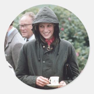 006060 Princess Diana Lochmaddy 1985 Classic Round Sticker