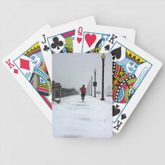 0070 DEDICATION.JPG BICYCLE PLAYING CARDS