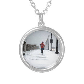 0070 DEDICATION.JPG SILVER PLATED NECKLACE