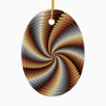 007 Fractal Ceramic Ornament