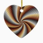 007 Fractal Ceramic Ornament