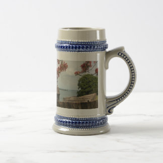 007a, 800px-Flag_of_Puerto_Rico_(1952-1995).svg... 18 Oz Beer Stein