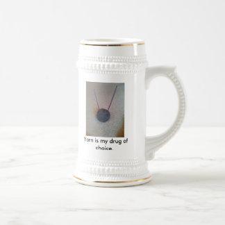 008 hilado es mi droga de la opción tazas de café