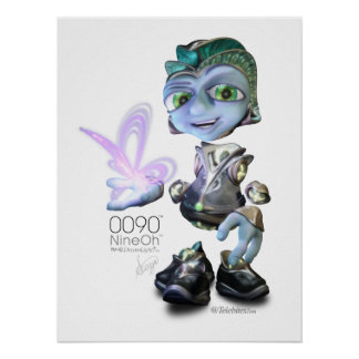 0090™ Butterfly Poster Print