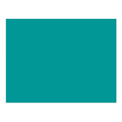 009999 solid color turquoise background template postcard - What colors make turquoise ...