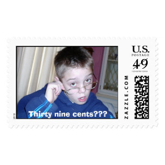 009, Thirty nine cents??? Postage