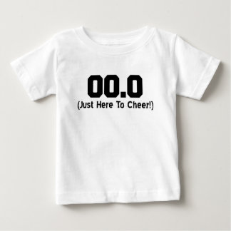 00.0 Just Here To Cheer Running Spectator Baby T-Shirt