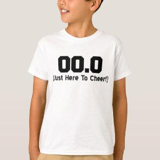 00.0 Just Here To Cheer Running Spectator T-Shirt