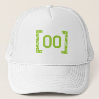 #00 Lime Green Trucker Hat