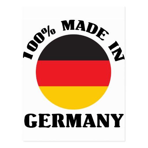 Made in germany postcard zazzle