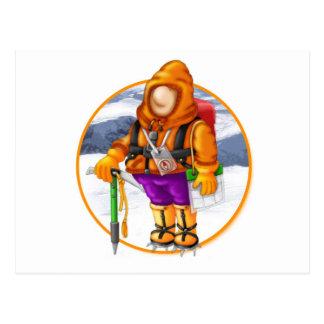 00 Mountain Mayhem Logo Postcard