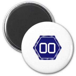 #00 Navy Tek Magnet