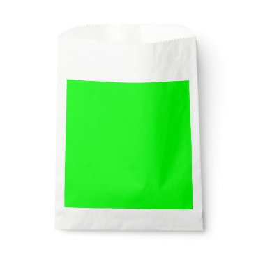 Professional Business #00FF00 Hex Code Web Color Neon Green Favor Bag