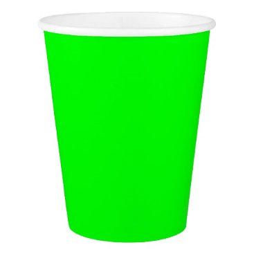 Professional Business #00FF00 Hex Code Web Color Neon Green Paper Cup