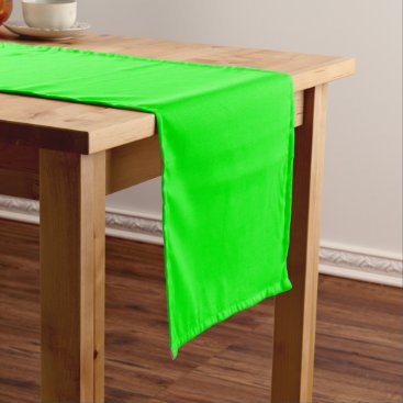 Professional Business #00FF00 Hex Code Web Color Neon Green Short Table Runner