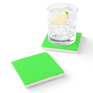 Professional Business #00FF00 Hex Code Web Color Neon Green Stone Coaster