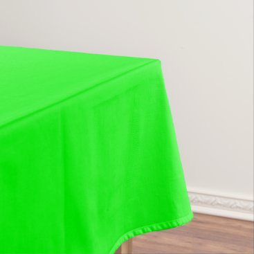 Professional Business #00FF00 Hex Code Web Color Neon Green Tablecloth