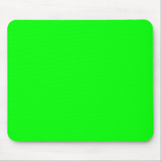 00FF00 Lime Green Mouse Pads